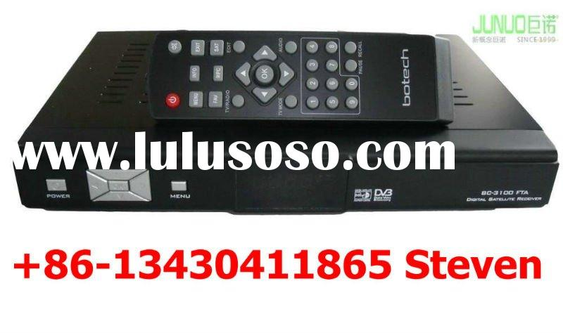 Free To Air Satellite Receiver +Biss+ RF, Scart and AV for Middle East, Africa, Turkey, Asia, Russia