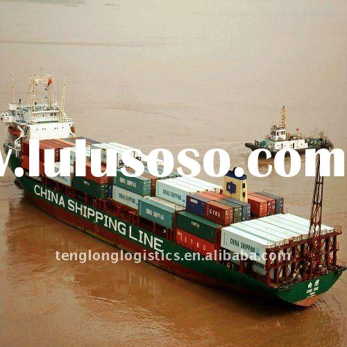 Freight forwarding container from Qingdao city China to Cape town in South Africa