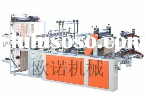 GBDR-500 Computer Control High-speed Vest Rolling Bag-making Machine