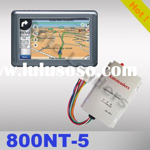 "GPS/GSM/GPRS Tracker for vehicles with 4.3"" screen Navigator"