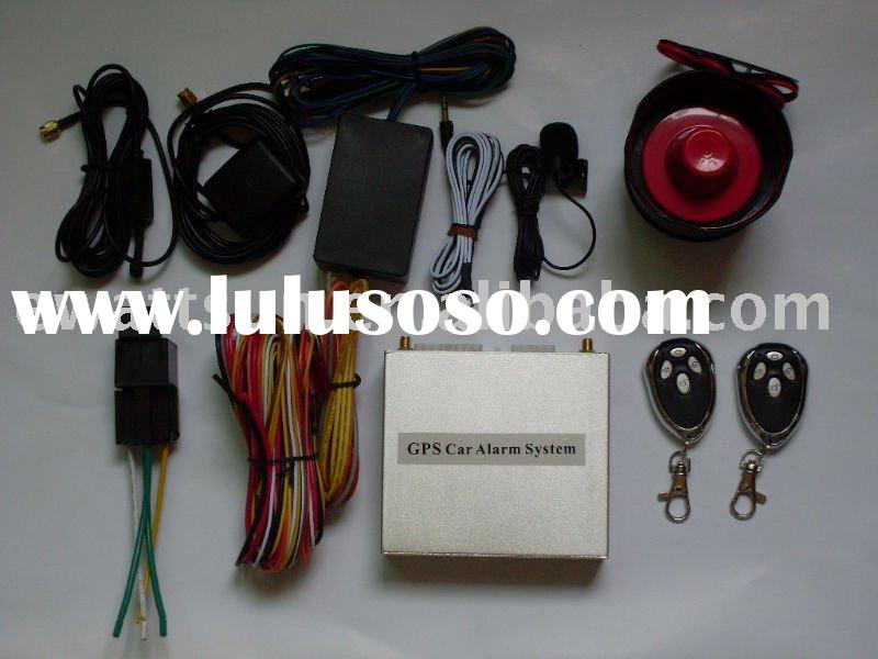 GPS GSM car alarm remote starts engine or airconditioner