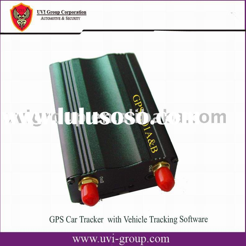 GSM/GPRS/GPS Car Tracker with Web based software and PC based software