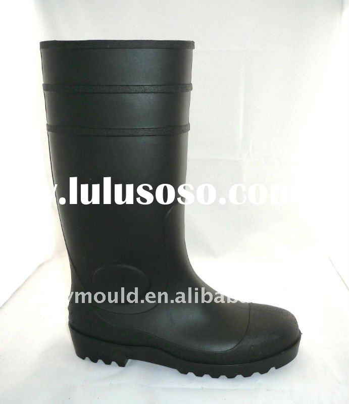 GY2011-02 Safety PVC boots,Wellington boots,Steel Toe Cap Rain boots