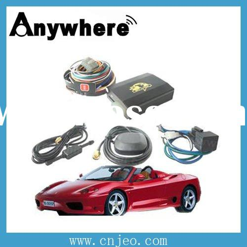 Global positioning satellite car gps tracking system