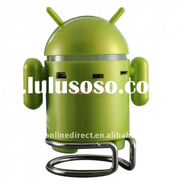 Google Android Robot Mini Speaker with TF Card Slot & FM Raido with Retail Package box it360