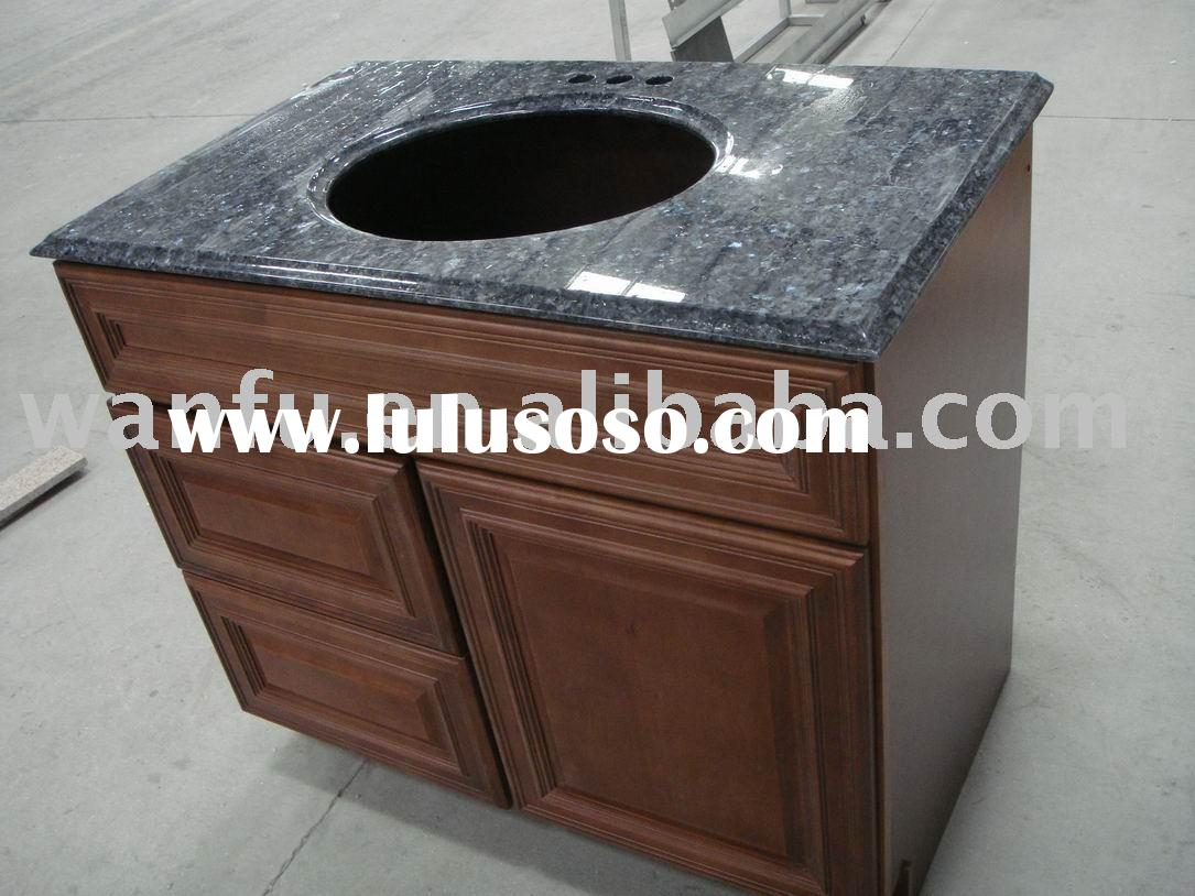 Granite marble ceramic round table tile slab countertop vanity top bathroom top