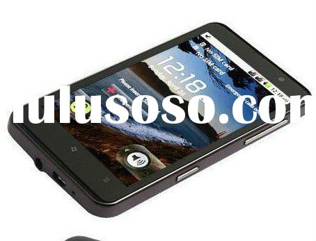 "H7000 4.3"" GPS + WIFI Capacitive Android 2.2 Dual SIM Quadband WCDMA GSM Mobile Phone"