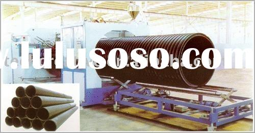 HDPE Heavy-Calibre Reinforced Winding Pipes Production Line plastic machinery