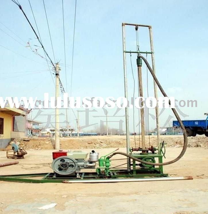 HF-80 lightest &useful farm irrigation water well drilling rig for sale