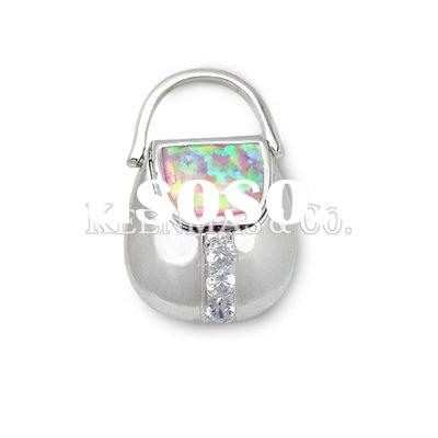 HOT ! 925 sterling silver jewelry, Silver Pendant,Opal stone, high quality,reasonable price,OEM orde