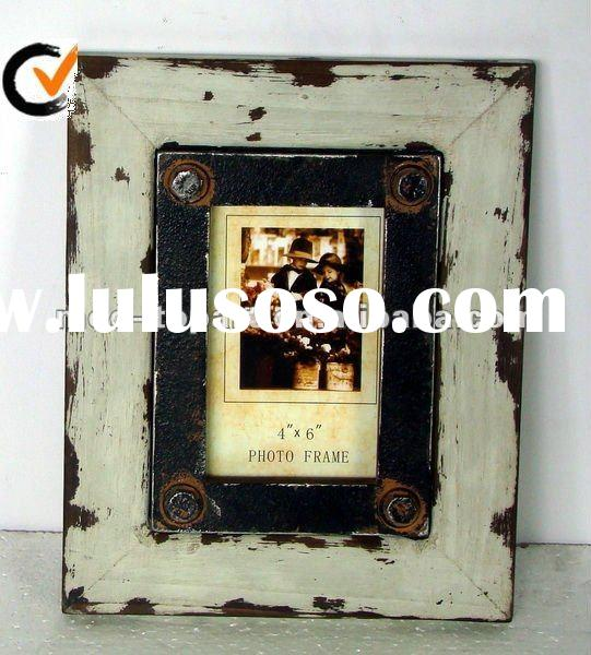 HOT SALES ITEM&HOME DECORATION&ANTIQUE WOODEN WALL PICTURE FRAME