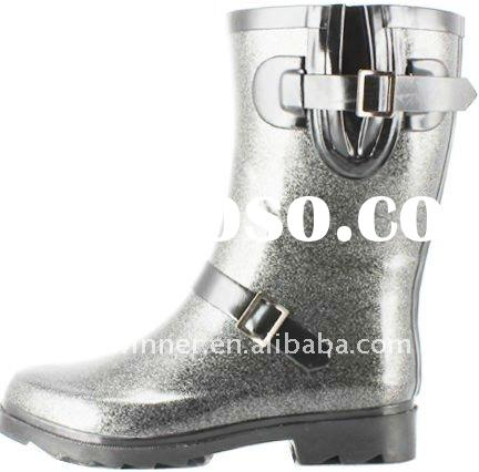 Half Cut Wellington Rubber Boots