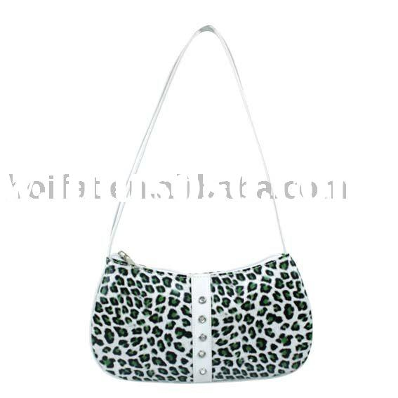 Handbag Leopard Printed Tote Bag PVC Shoulder Bag PU Bowling Bag Canvas Evening Bag Polyester Shoppi