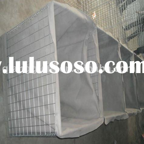 Hesco bastion / blast wall --collapsible gabion--ISO9001,Hardware & Building Materials Fair May