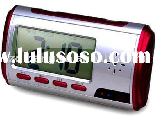 Hidden camera (mini DVR) with clock function