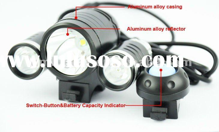 High Power Cree XM-L T6 LED Aluminum Bicycle light/bike front light