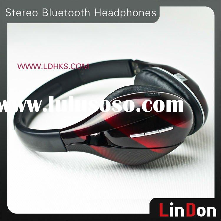 High Quality Bluetooth Stereo Wireless Headset For Mobile Phone/Computer