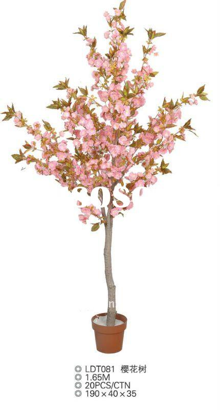 High Quality Evergreen Decoration Artificial Cherry Blossom Trees