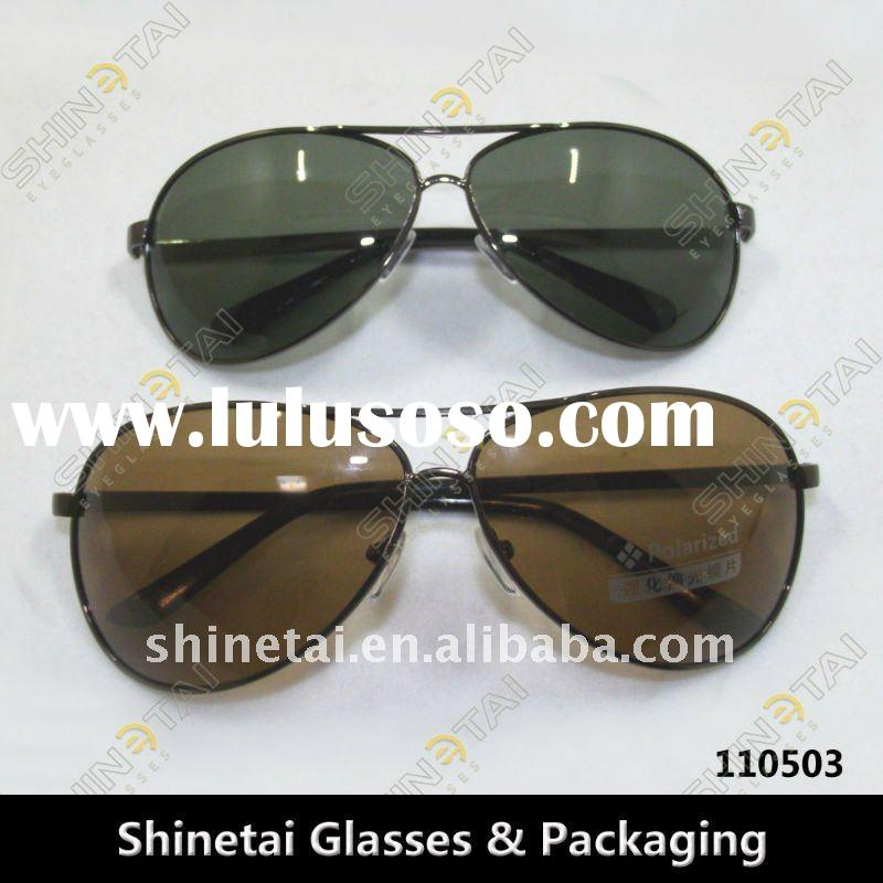 High Quality Metal Frame Polarized Sunglasses