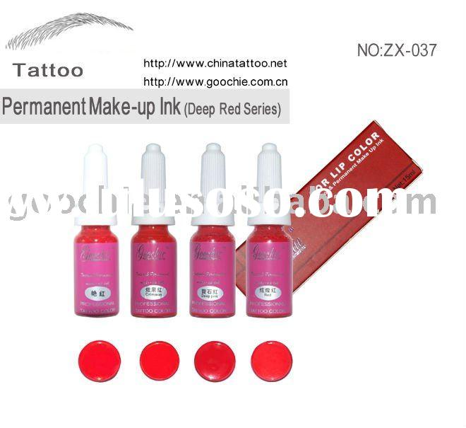 High Quality Permanent Makeup&Tattoo Ink for lip
