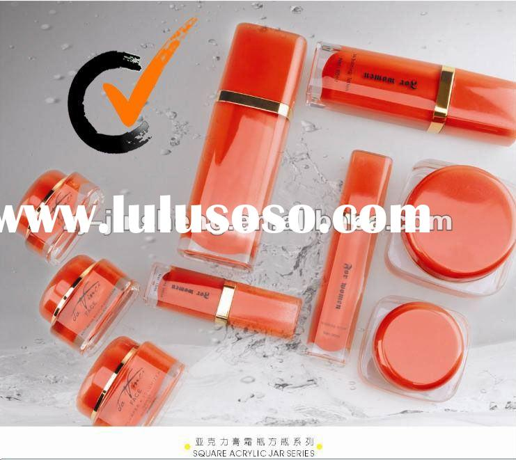 High Quality Square Acrylic Jars and Bottles for Cosmetics