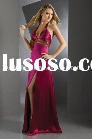 High Quality Wedding dress Satin Evening dress Prom gowns