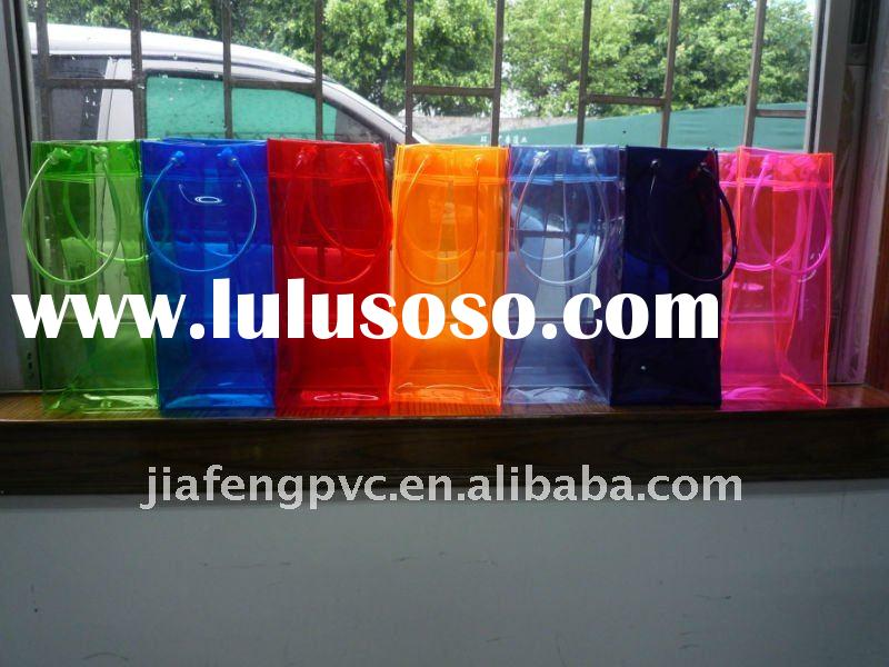 High Quality and inexpensive,Waterproof PVC Cool Bag as Wine Bottle Holder