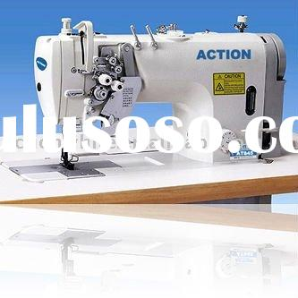 High Speed Double Needle Lockstitch Sewing Machine 845/875