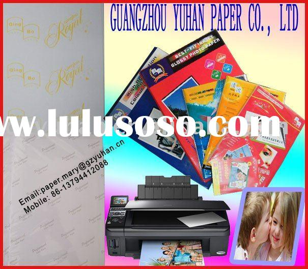 High glossy inkjet printing photo paper 230gsm
