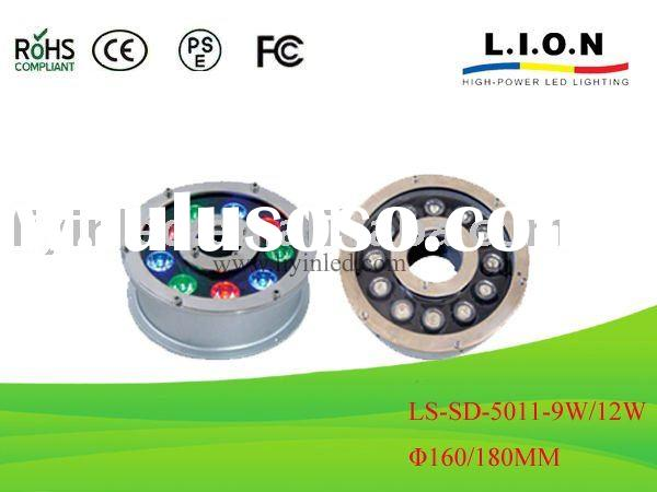 High power LED underwater light 9/12W