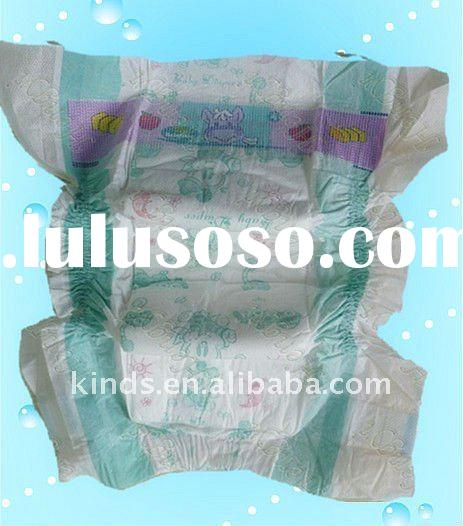 High quality Ultra thin disposable baby diapers with ADL