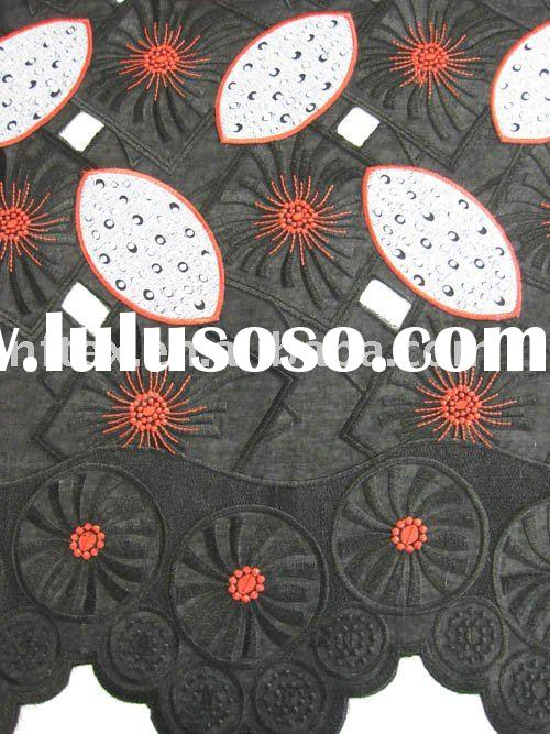 High quality!!! african lace,Swiss Voile Lace,handcut lace DF043