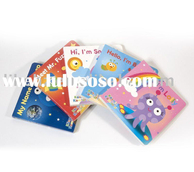High quality & eco-friendly child board book printing