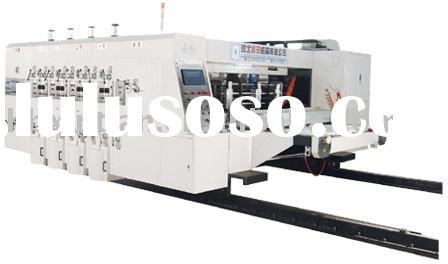 High-speed Flexo Printing machine( Slotting Die-cutter)