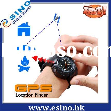 High-tech products!Portable GPS Tracker Watch Location Finder + Data Logger + Photo Tagger