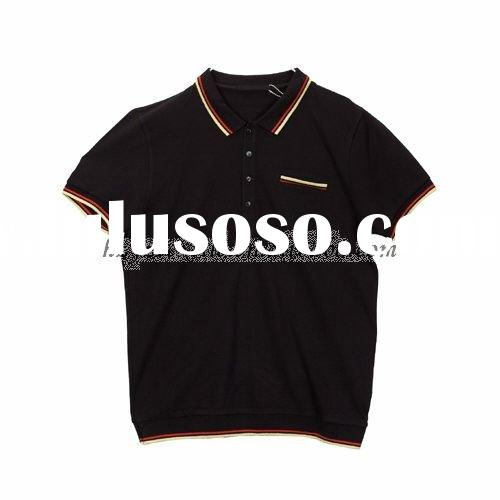 Hot Sale Fashion & Breathable Men's Short Sleeve Summer Polo T-Shirt/polo Shirt