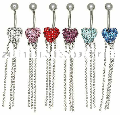Hot Thailand Dangle Belly Button Ring body piercing jewelry