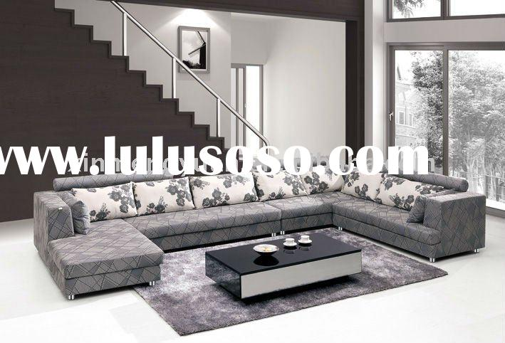 Hot sale living room furniture big cheap fabric sofa