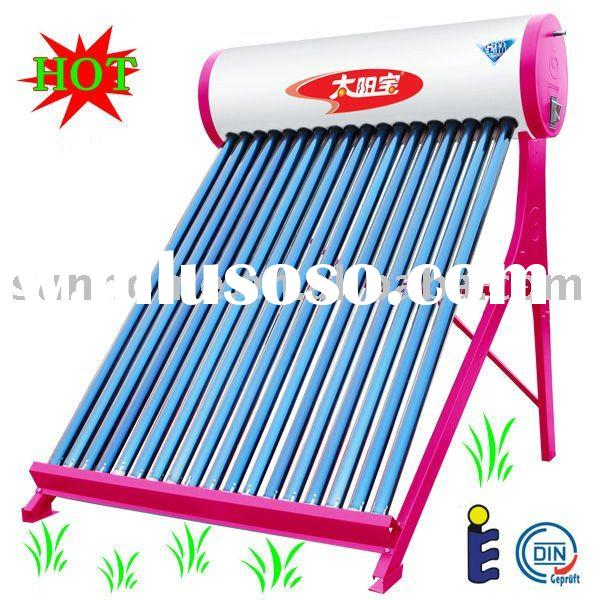 Hot selling! 2011 New! UV sterilization! Direct Plug solar water heater