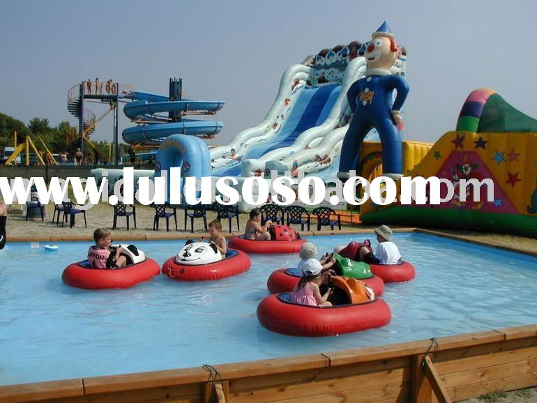 Inflatable amusement water park