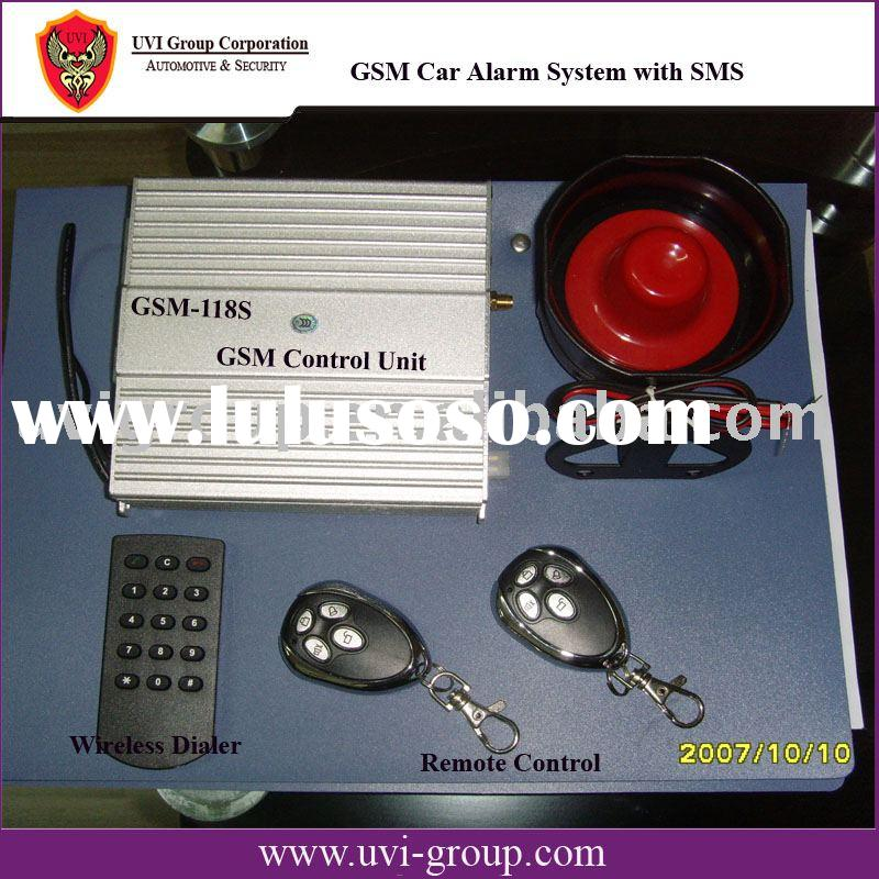 Intelligent GSM Car Alarm System with Remote engine-start
