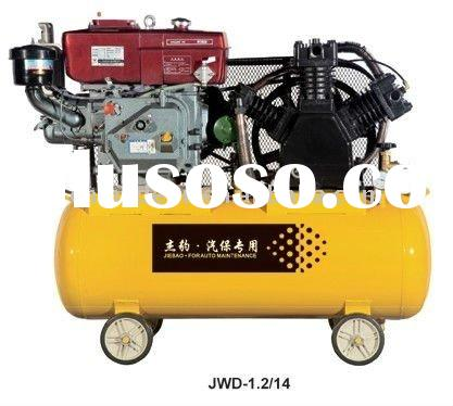 JWD-1.2/14 diesel engine auto maintenance air compressor