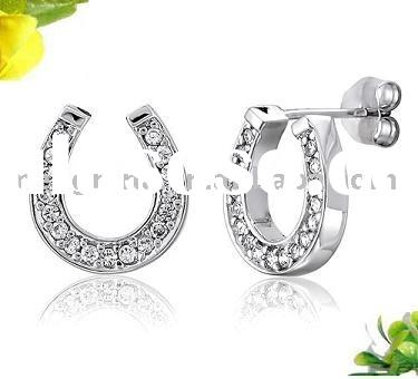 Jewelry, Jewellery, Fashion Jewelry, Imitation Jewelry,Equestrian Jewelry,Horseshoe Jewelry,Cz Cryst