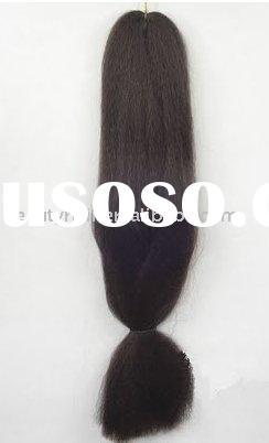 Jumbo braid, synthetic braiding hair, Yaki jumbo braiding
