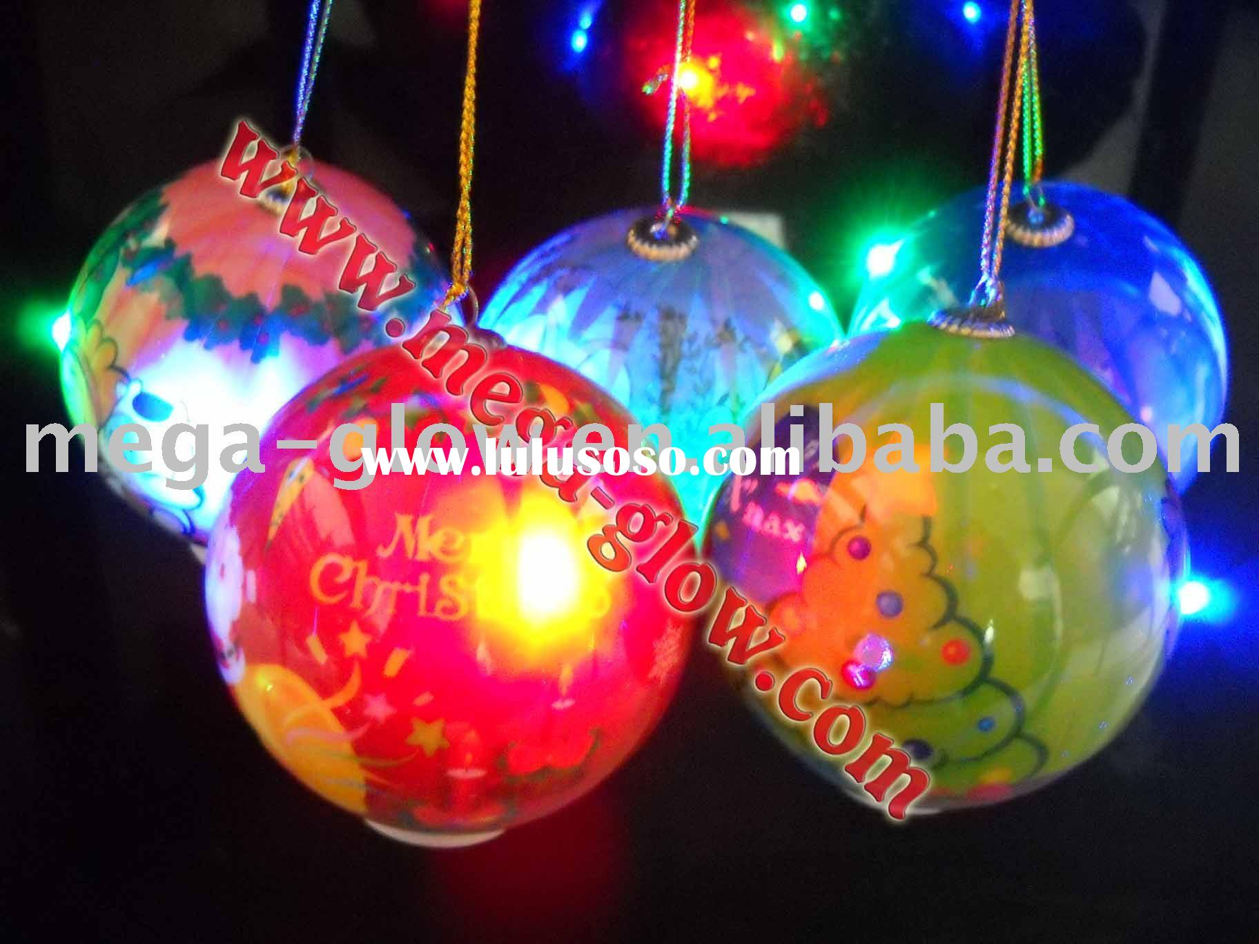 LED Christmas light ball,Christmas decoration ball,flashing ball