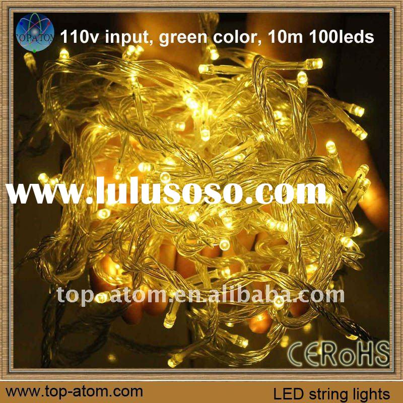 LED Christmas light for outdoor decoration (including red, yellow, blue, green, white, gold, RGBY co