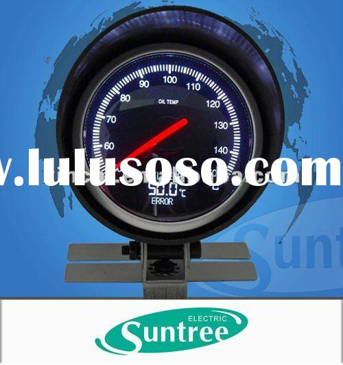 LED Oil Temperature Gauge with Digital Display