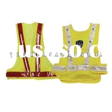 LED light reflective safety vest , reflective vest,safety vest