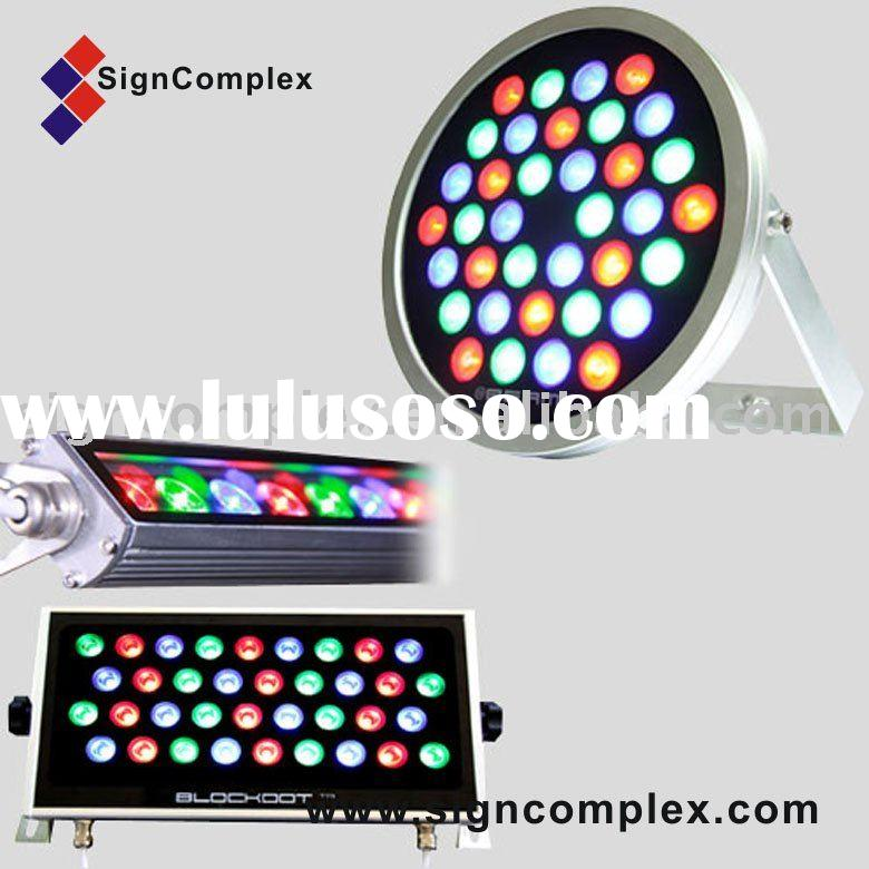 LED wall washer in RGB color,high power led lamp,led projection light