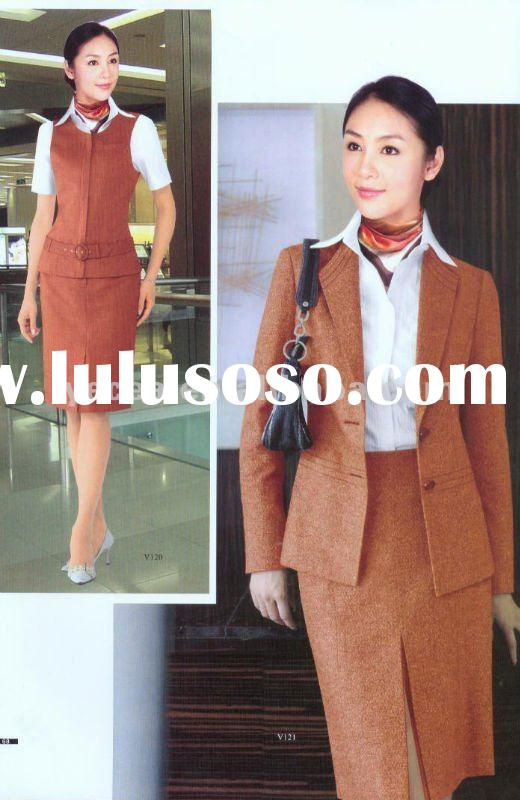 Ladies Office Uniform /hot sell staff